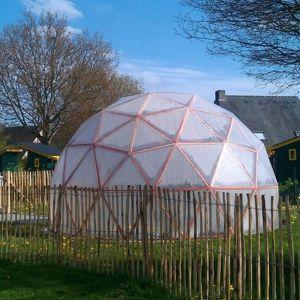 Les dômes géodésiques Bertrand