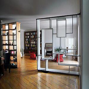 bibliothèque Damien