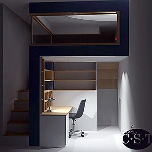 Projet d'agencement de mezzanine #1 Christophe