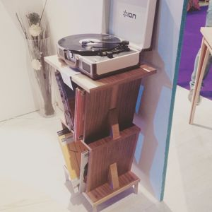 Meuble à platine vinyles modulable Tiphaine et Valentin