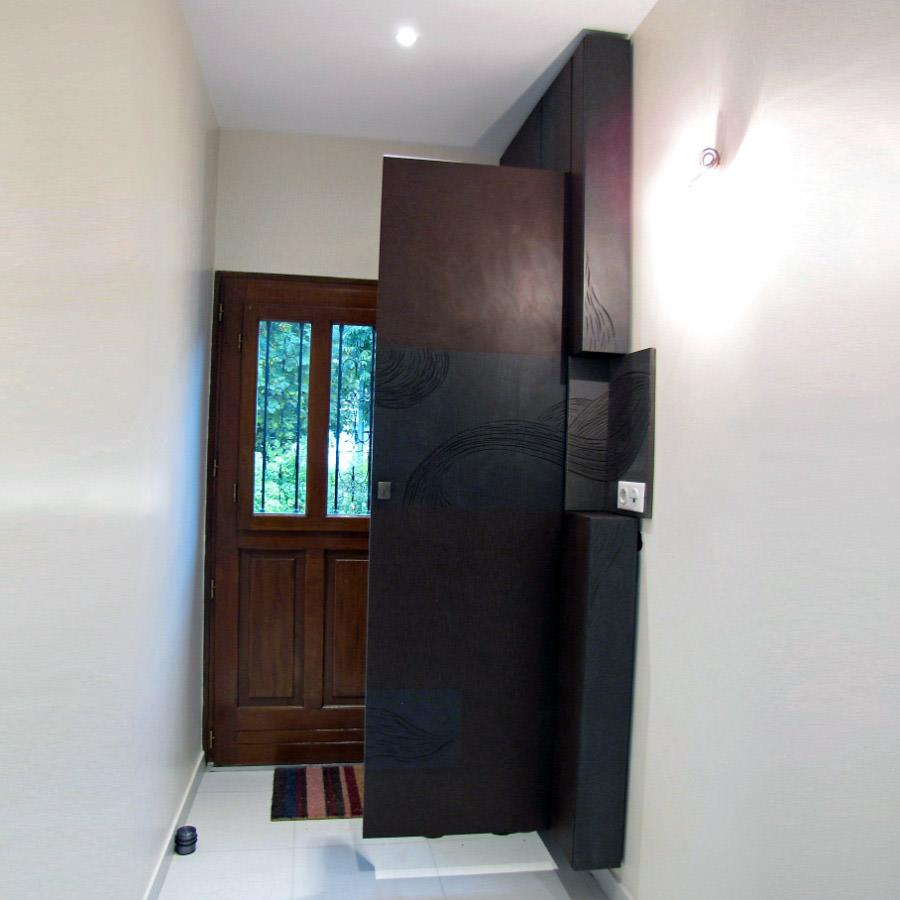 fa ade de placard d entr e par vincent r. Black Bedroom Furniture Sets. Home Design Ideas