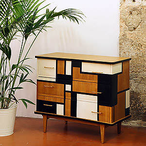 Commode Metropolis Floriane