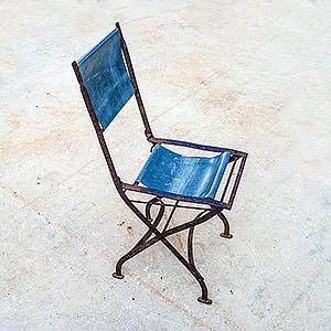 Petite chaise pliable Artyzinc