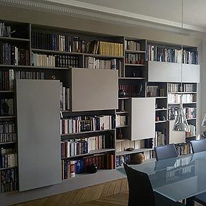 Bibliothèque (Architecte d'intérieur: Pascal Froidure) Jacques