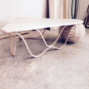 "Table basse ""Die welle "" Karel"