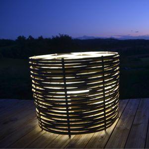 Luminaire au sol cylindrique Bertrand
