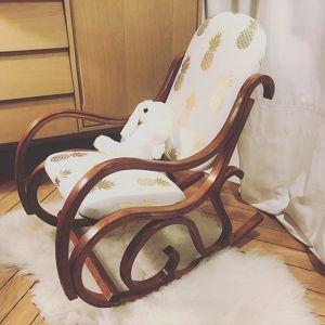 Upcycling d'un rocking chair pour enfant Caroline