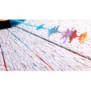 Décoration murale fréquences Pierre