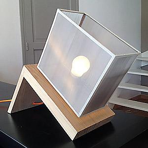 Lampe éco-design électro/open Design Gilles