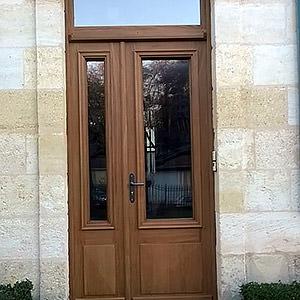 porte d'entrée chene Vincent