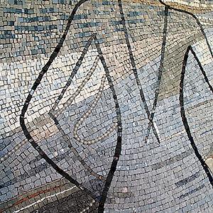 Fresque mosaïque HÔTEL Mademoiselle **** JEROME