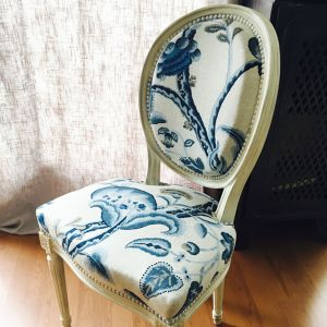 Rénovation de fauteuils de style Caroline