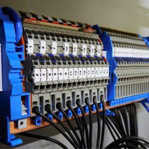 Câblage d'une armoire électrique Eric