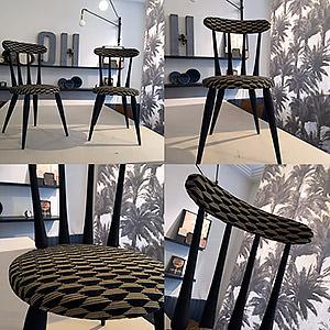 Paire de chaises Emmanuelle