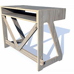 Bureau 1020 Desk system  Multiplis Pins des Landes  Pierre