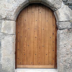 Porte de style médiévale Philippe