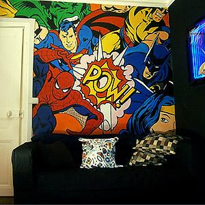 Fresque murale 2 Eddy