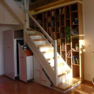 Rénovation et aménagement d'un escalier Christophe