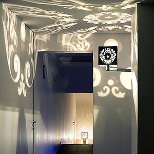 Cage de Lumière - Applique motif Arabesque Mariane