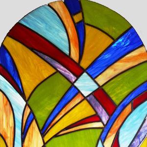 Création de vitraux Aurore