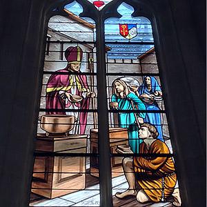 Saint Aubin, église de Lévignen (60) Nicolas