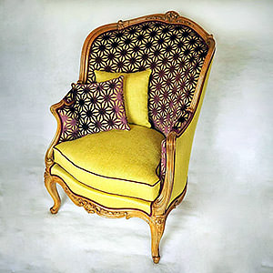 Bergère Louis XV Romain