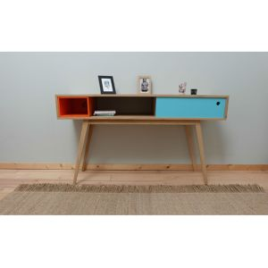 Console 4 pieds style scandinave vintage Eric