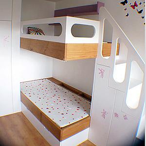 Conception de mobiliers pour une chambre d'enfants Jacques