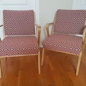 2 confortables fauteuils 1960 Valérie