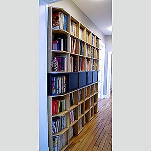 Bibliothèque MDF Antoine