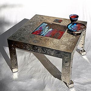 Table basse CREPUSCULE SUR L'ETNA Ariane