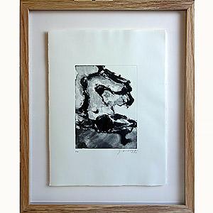 "Montage type ""galerie"" sur une estampe originale de Marie Alloy Sylvie"