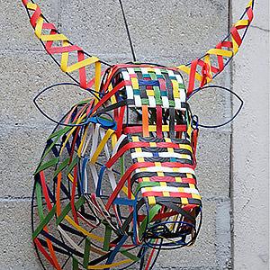 "Suspension ""Tête de vache"" Sandra"