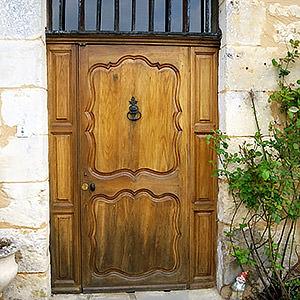 Porte d'entrée joel