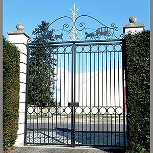 Grille de portail Clément
