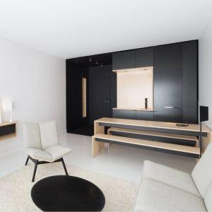 Black vs. white – Agencement optimisé d'un studio Christophe