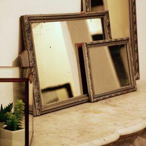 Transformation cadre en miroir Floriane