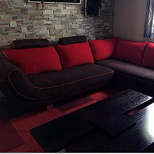 Canapé d'angle Sabine