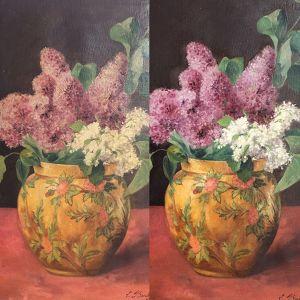 Composition florale Marjorie