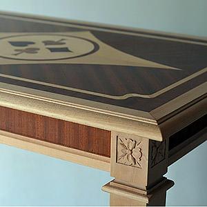 Table à jeux style Louis XVI Thomas
