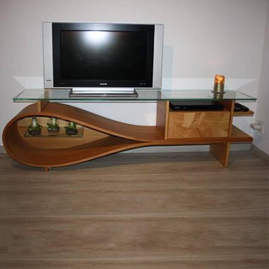 """Meuble Tv Table Basse Assorti meuble hi-fi """"goutte d'eau"""", un projet de nicolas goubio"""