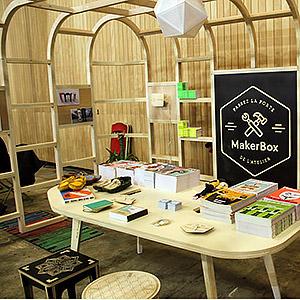 Stand éphémère MakerBox ICI