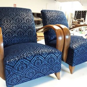 Paire de fauteuil 1930 Pascal