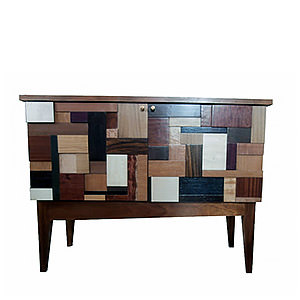 Buffet bas patchwork Esther