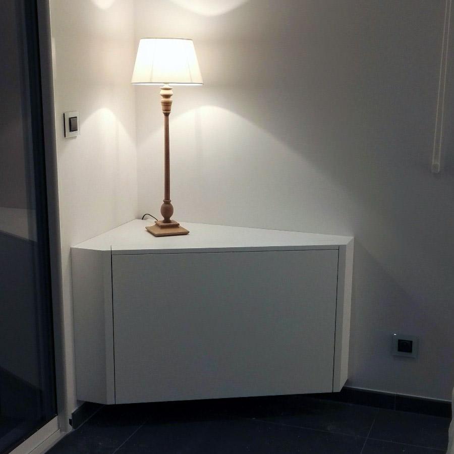 Meuble Cache Tv Television On Decoration D Interieur Moderne  # Meuble Cache Tv