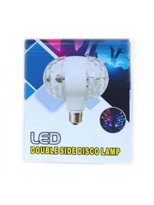 LED Disco Rotating Double Lamp