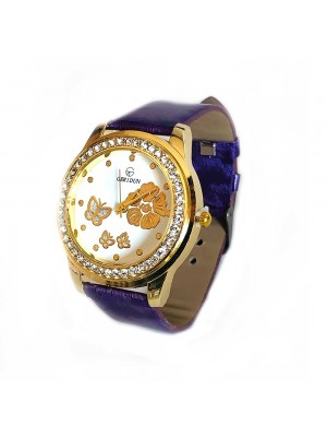 Woman's Wrist Flower Watch