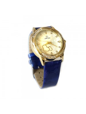 Woman's Wrist Hearts Watch