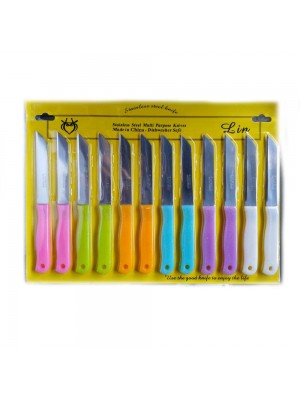 Stainless Steel 12 Pcs Knives
