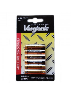 AAA Alkaline Batteries 6pcs